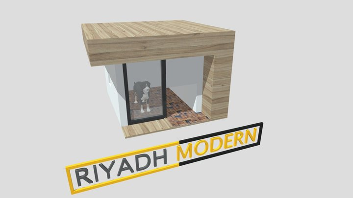 HOME DOG MODERN 3D Model