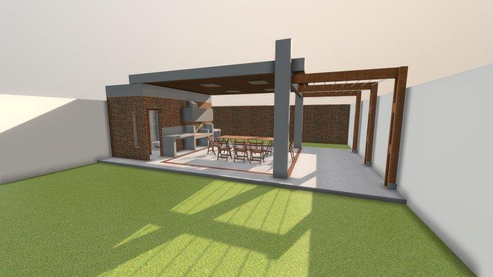 Quincho Traverso 2 3D Model