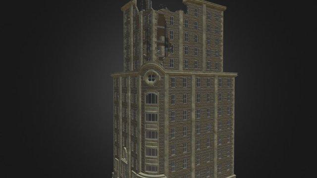 Derelict Building WIP 3D Model