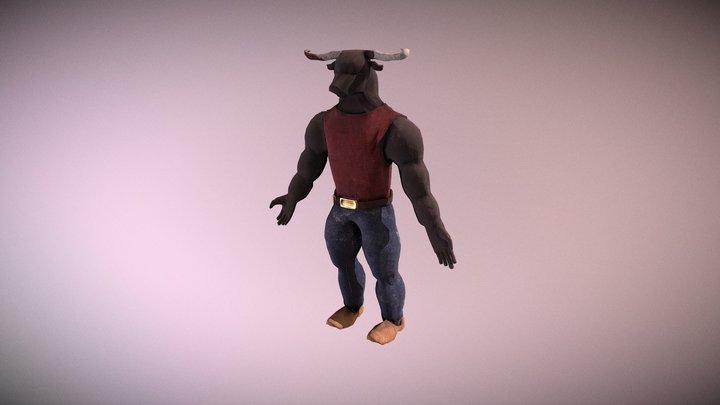 Minotaurus (Lowpoly) 3D Model