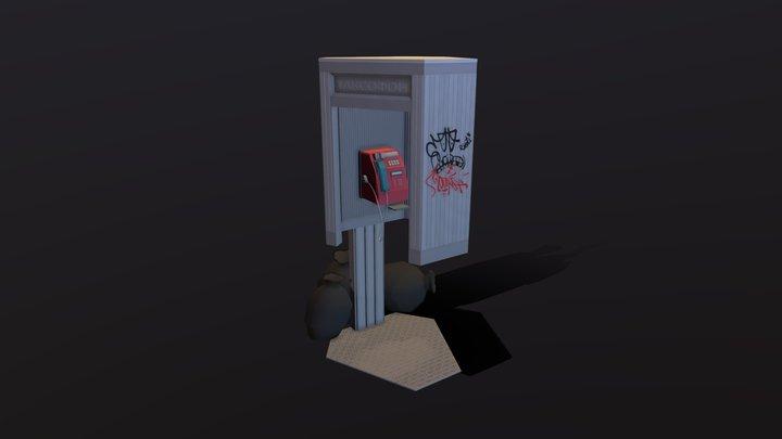 XYZ Course work ( Final draft - Payphone ) 3D Model