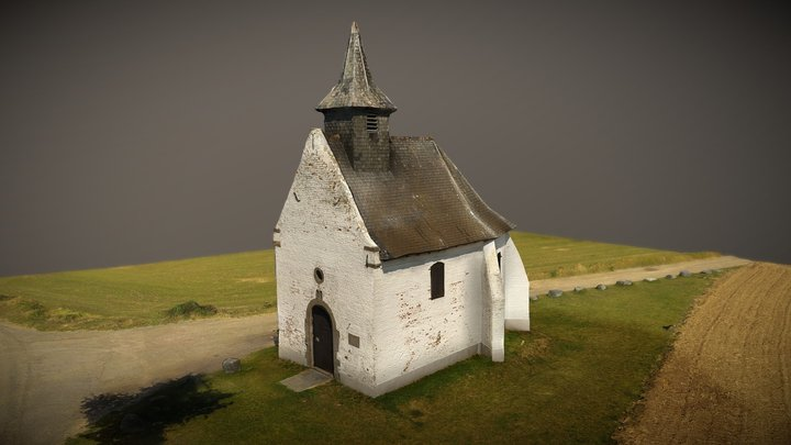 Chapelle Bousval 3D Model