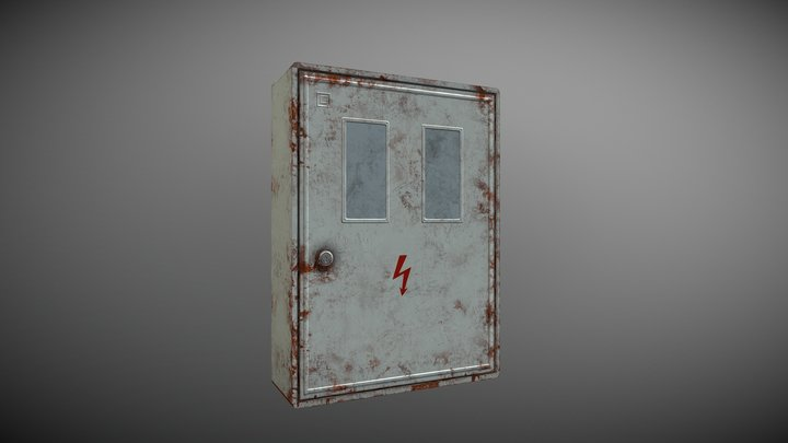 Electrical cabinet 3D Model