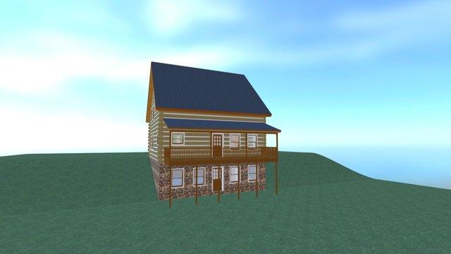 3D Cabin 3D Model