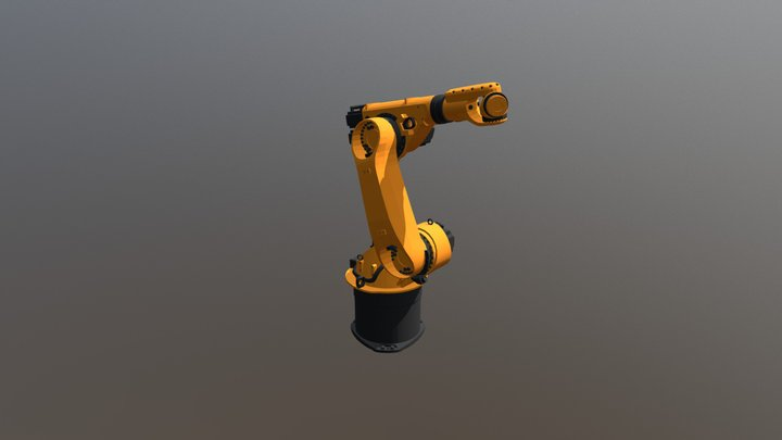 Test Robot 1 3D Model