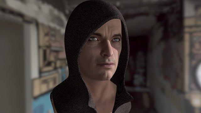 Alex Head Test3 3D Model