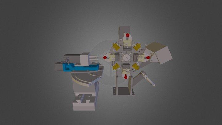 Hex Body Driller Machining 3D Model