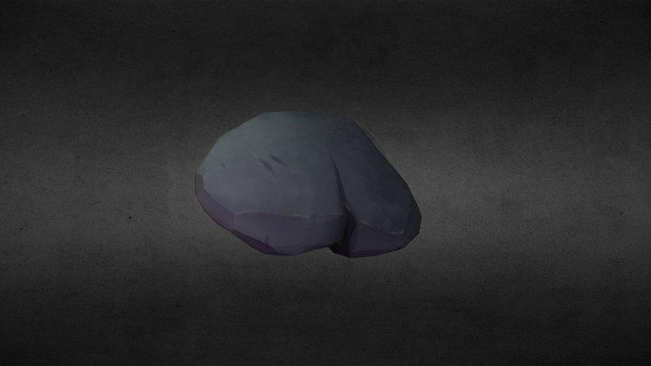 Small Rock 3D Model