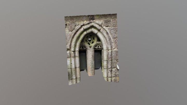 Arco da Capela de Santo Alberte-Guitiriz-Galicia 3D Model
