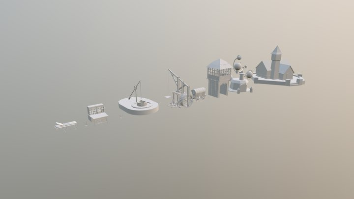 Home W #3 Draft 10 3D Model