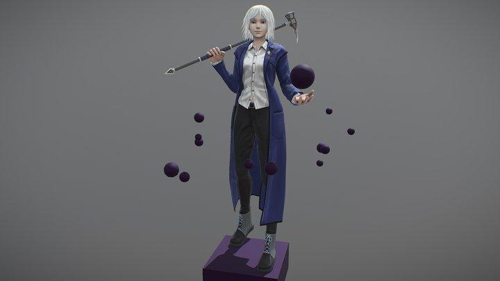 Sabrina Vee 3D Model