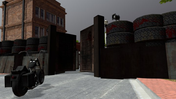Woodbury cityscene - 1DAE09 Gabrielle Hens 3D Model