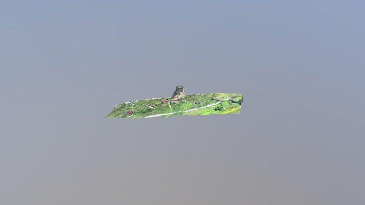 Цамад реконструкция 3D Model