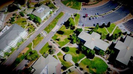 2015-6-24 Simpson College Larger Site Pix4DMesh 3D Model