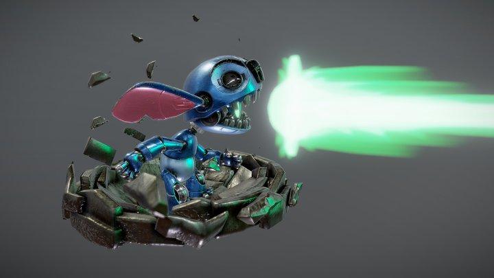Stitch Robot 3D Model