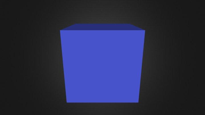 Demo Blue Part 3D Model