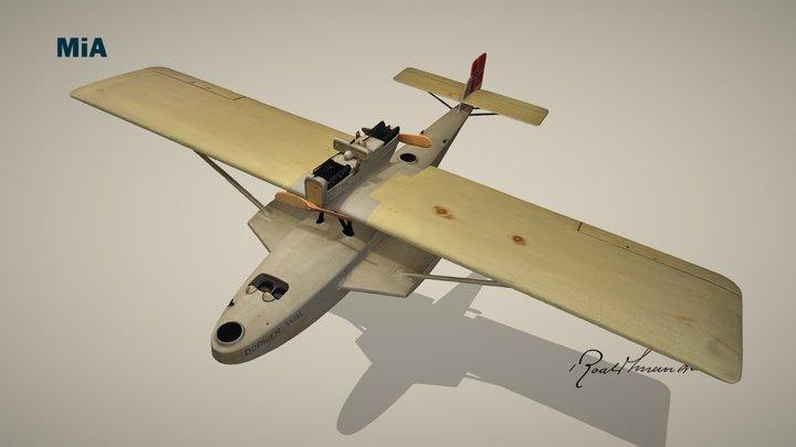 Dornier Wal flybåt / Dornier Wal flying boat 3D Model