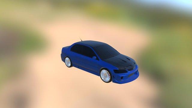 Evo IX 3D Model