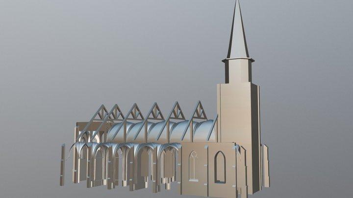 Kerk Johannes De Dooper 3D Model