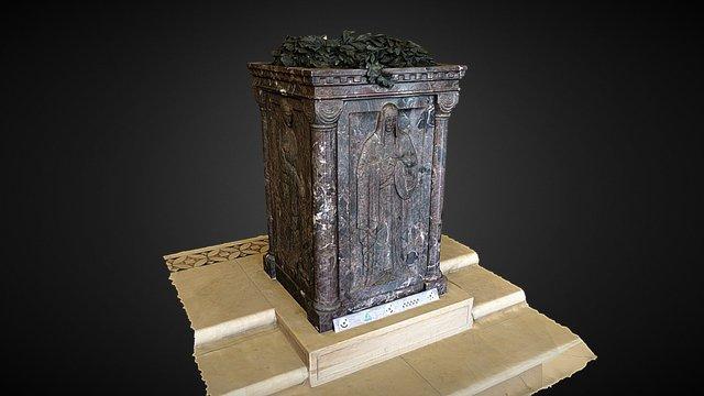 Chapel Altar 3D Model