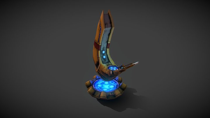 Tau Shrine of Mont'Ka 3D Model