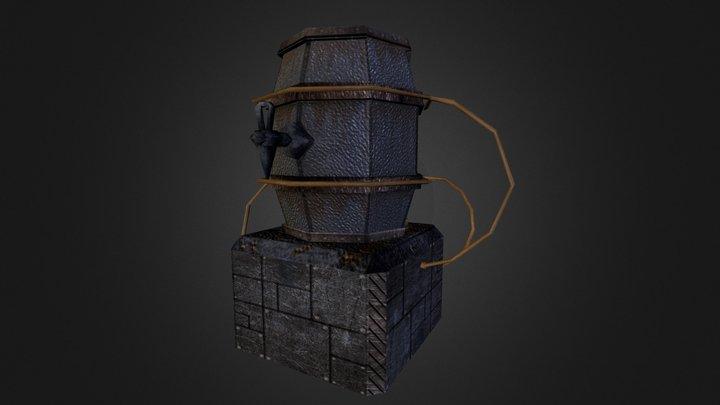 Freezyaid Alecask Low 3D Model