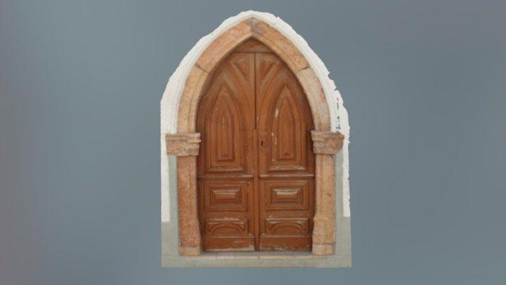 Portal da Igreja da Misericórdia 3D Model