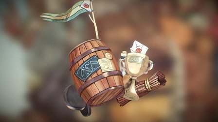 Pirate Loot 3D Model