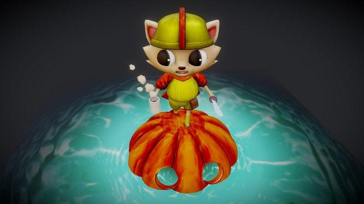 Marble's Adventures 3D Model
