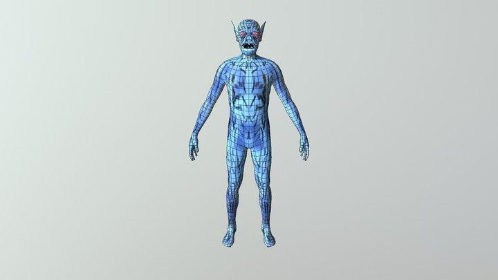 EDDIE VERSION MICHELLE N 3D Model