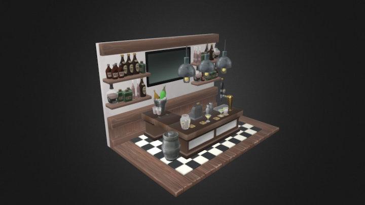 Scene Bar 3D Model