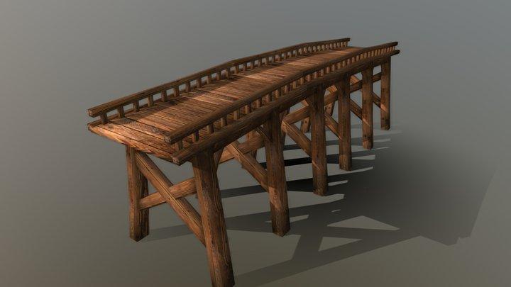 Long Wood Bridge 3D Model