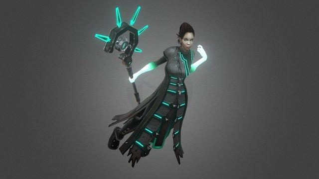 Annalinnia 3D Model