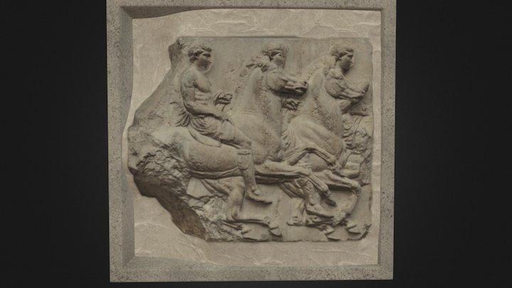 British Museum Horse scan 3D Model