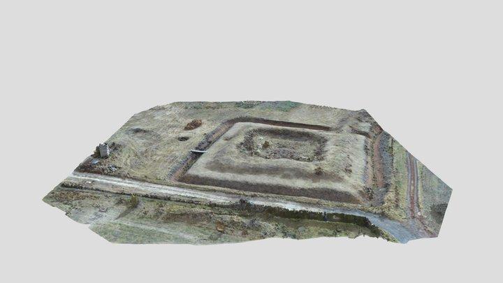 Укрепление в археологическом парке «Аргамач» 3D Model