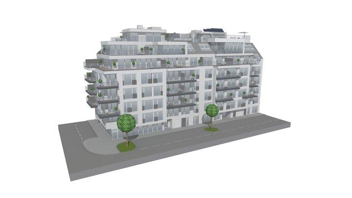 Goldener Schwan 3D Model