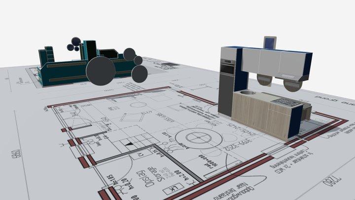 CONFORT house 3D Model