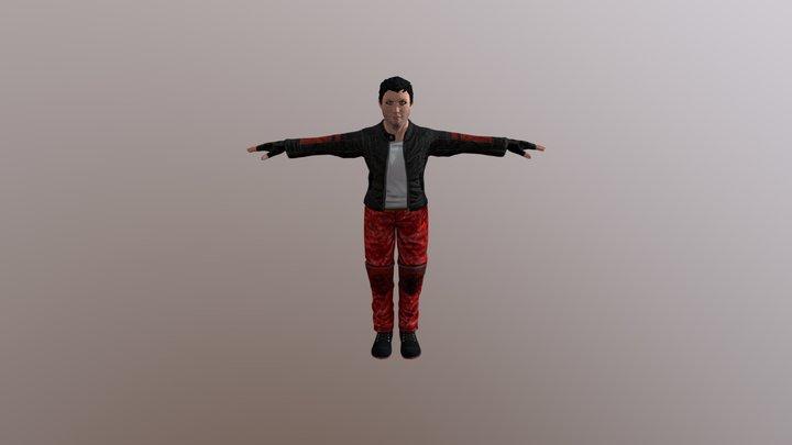 Dylan McFly 3D Model