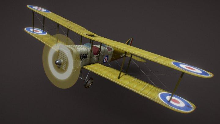 PLANE WORLD WAR I 3D Model