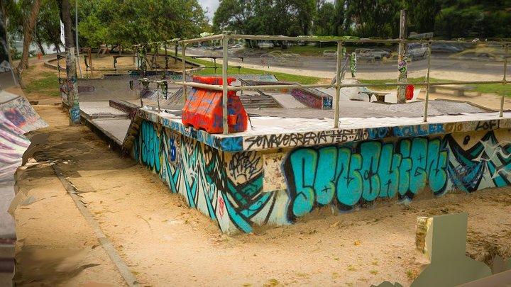 Skate Park Scan - Rio de Janeiro - Lagoa 3D Model