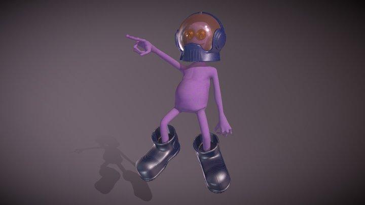 Unti - Character Design 3D Model