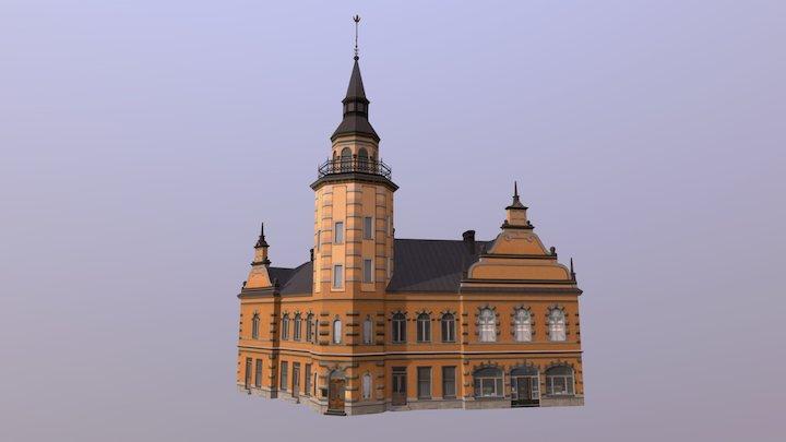 Rauma Town Hall 3D Model