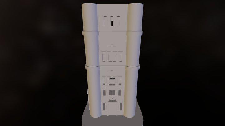 Tower Bridge Tower 3D Model