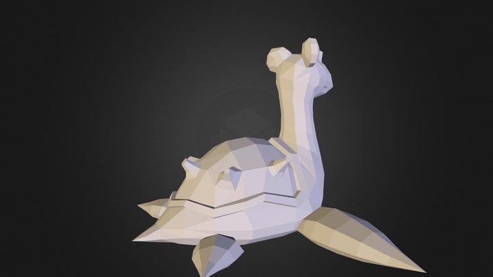 Lapras 3D Model