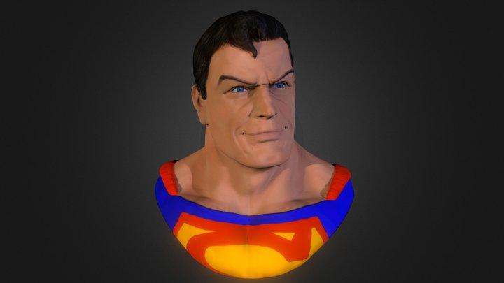 Superman Sculpt+ iPad Pro 3D Model
