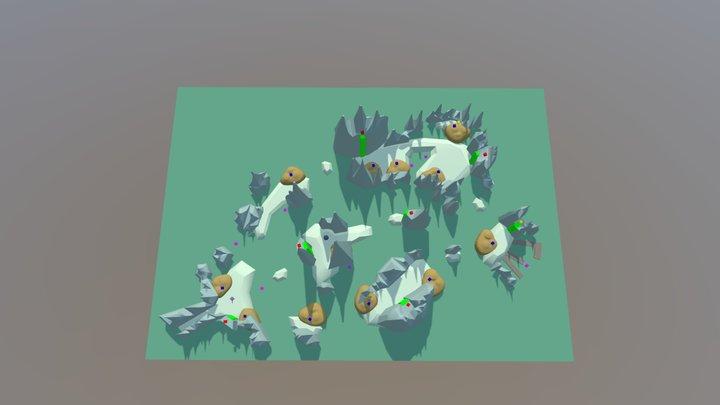 wip: wetlands level 3D Model