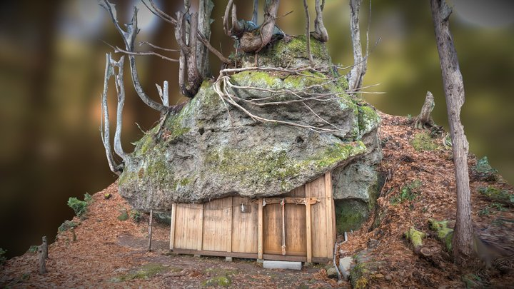 Mitsuishi shrine(japan) 3D Model