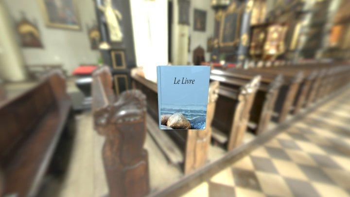 The Book Blue 3D Model