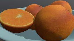 Oranges Basket 3D Model