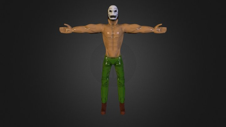 Personajeyo Obj Zbrush Nvl3 3D Model
